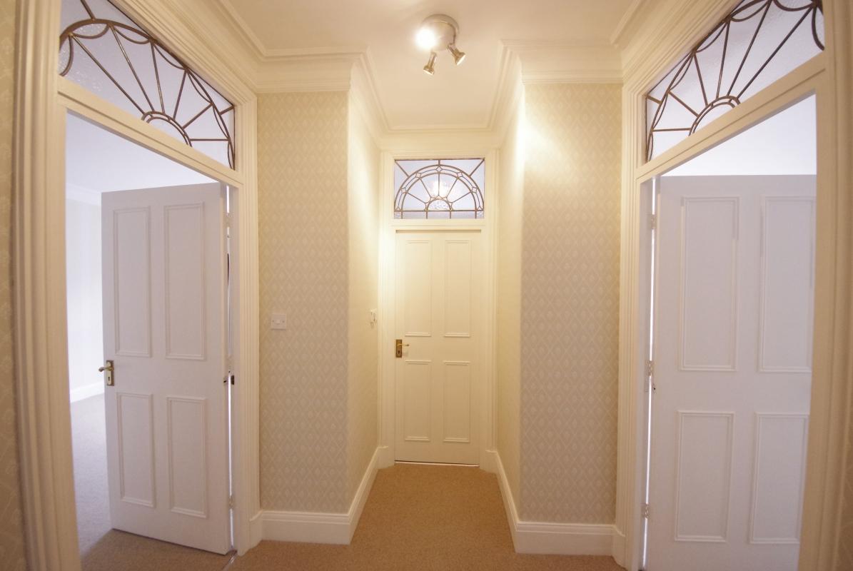 Просторный коридор